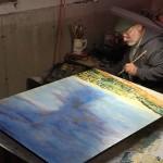 The Artist in Studio